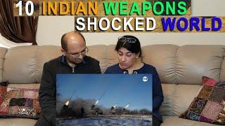 Best INDIAN WEAPONS In The World   TOP 10 Weapons Possessed by Indian Army, Navy, Air Force REACTION