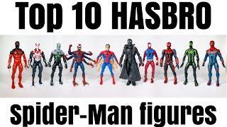 "TOP 10 Hasbro Spider-Man Marvel Legends 6"" action figure review"