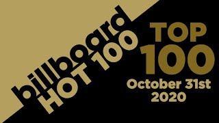 Billboard Hot 100 Top Singles This Week (October 31st, 2020)