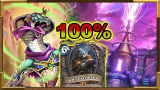Hearthstone: Looking For Best Deck? 100% Winrate With Even Shaman | Genn Was and Is Broken | Wild