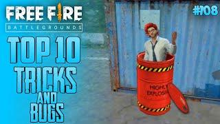 Top 10 New Tricks In Free Fire | New Bug/Glitches In Garena Free Fire #108