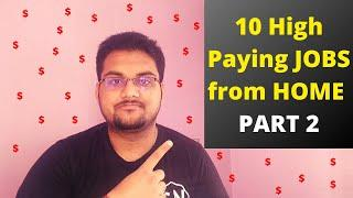 Top 10 High Paid Jobs you can work fom home in 2020 | PART 2