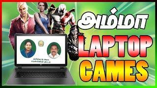 Top 5 Best Government Laptop Games | Amma Laptop Games | #VARUNYT