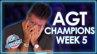 America's Got Talent: The Champions SEMI FINALS! | WEEK 5 | Top Talent