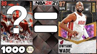 THIS POINT GUARD COSTS 1K MT AND PLAYS LIKE GALAXY OPAL DWYANE WADE! NBA 2K21 MyTEAM