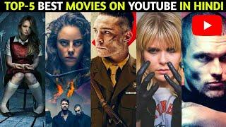 Top 5 Hollywood Best Movies Available On YouTube In Hindi | Part 56