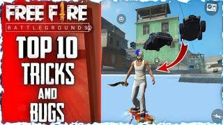 Top 10 New Tricks In Free Fire | New Bug/Glitches In Garena Free Fire