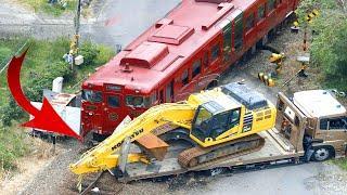 Top 10 Dangerous Trains & Tank Crashing 2021 ! Crazy Truck  Crossing Railway Tracks Accident