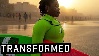 How Women in Surfing are CHANGING THE WORLD!   Khadjou Sambe, Transformed