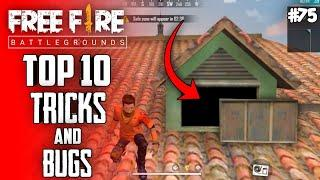 Top 10 New Tricks In Free Fire | New Bug/Glitches In Garena Free Fire #75