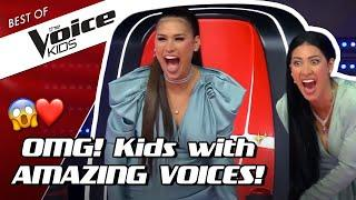 TOP 10   MOST TALENTED SINGERS in The Voice Kids (part 2)!