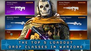 Call of Duty WARZONE: Top 5 BEST LOADOUTS To Use (Warzone Best Drop Kits)