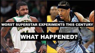 The 10 Worst NBA Superstar Experiments This Century | What Went Wrong?
