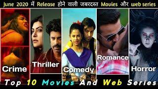 Top 10 Web Series Release In June 2020   Top 5 Movie Release In June 2020   #monthlyrepotwebseries
