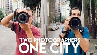 RAINY 10 Minute Street Photography Challenge in Manila, Philippines!