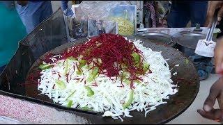 Indo Chinese Frankie Stuff Making | Evening Snack Recipe