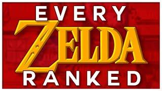 The Legend of Zelda In Review - Every Zelda Reviewed and Ranked