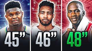 Top 10 Highest Vertical Jumps In NBA History