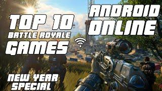 Top 10 Battle Royale games for android