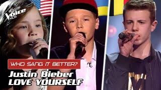"""Who sang Justin Bieber's """"Love Yourself"""" better? 