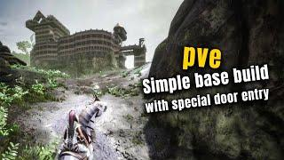 Simple Base Build With Special Door Entry | PVE