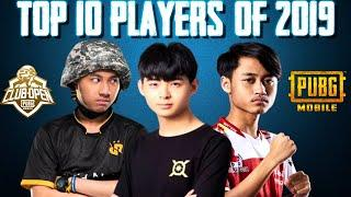 TOP 10 PLAYERS OF 2019 | PUBG MOBILE
