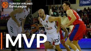 Turkish Airlines EuroLeague Regular Season Round 17 MVP: Nick Calathes, Panathinaikos OPAP Athens