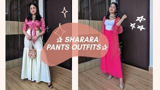 10 Ways to Style Palazzo/Sharara Pants For Every Occasion