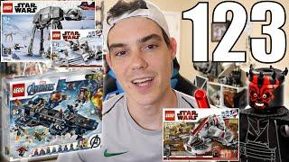 The BEST LEGO Star Wars AT-AT? 2020 Helicarrier! MY LEGO Ideas Project!? | ASK MandRproductions 123