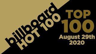 Billboard Hot 100 Top Singles This Week (August 29th, 2020)
