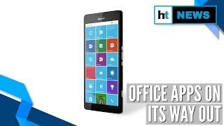 Microsoft to end support for Windows 10 Mobile Office apps in 2021