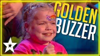 1st GOLDEN BUZZER on Britain's Got Talent 2020 | Kids Got Talent