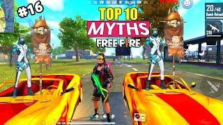 Only 0.1% People Know This Trick | Top 10 Mythbusters in Free Fire Battleground,Garena Free Fire #16