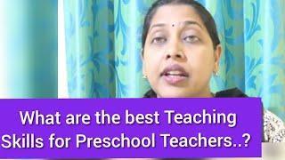 Top Teaching skills revealed for preschool teachers teaching.!l SECRETS  Preschool Teachers teaching