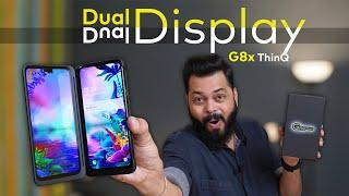 LG G8x ThinQ Unboxing & First Impressions ⚡⚡⚡ Dual Display Madness!!