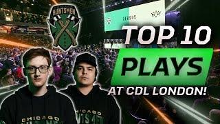 TOP 10 PLAYS BY CHICAGO HUNTSMEN! (CDL LONDON CHAMPIONS)