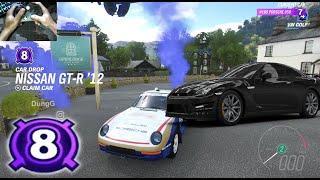 Forza Horizon 4 Eliminator Top 1 - Car Drop Level 8 Nissan GT-R 12