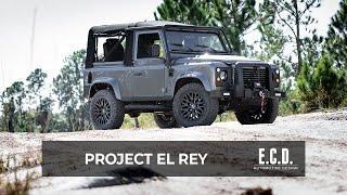 Restored Defender 90 Soft-top Built for Off-road Adventure   Project El Rey   D90
