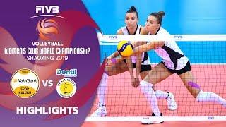 VakifBank Istanbul vs. Dentil Praia Clube - Highlights | Women's Volleyball Club World Champs 2019