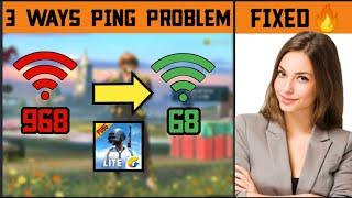 Top 3 WAYS To Fix High Ping Problem In Pubg Mobile Lite • High Ping Problem Solved | LoRD