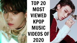 [TOP 20] MOST VIEWED KPOP MUSIC VIDEOS OF 2020 | January