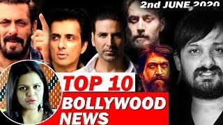 Top 10 Bollywood News   2nd June   Wajid Khan, KGF 2, Salman Khan