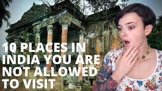Forbidden?! Top 10 Places in India You Are NOT Allowed to Visit | REACTION!