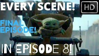 EVERY Baby Yoda Scene In EPISODE 8! (SEASON FINALE) [1080p Full HD) The Mandalorian!
