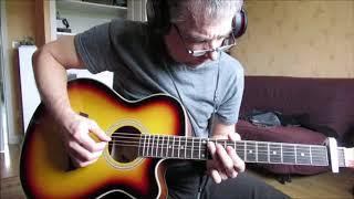 Sharp Dressed Man(ZZ Top)cover acoustic with original vocal