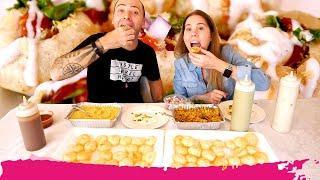 $50 Dahi Puri CHALLENGE - Indian Street Food Challenge TAKE OUT Edition | Miami, Florida