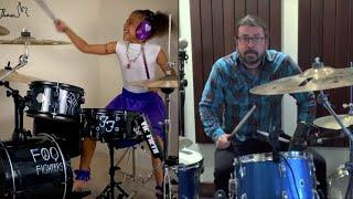 10-Year-Old Drummer Inspires Rock Star's Epic Song