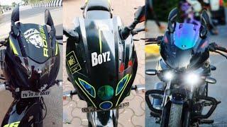 Top 10 Modified Bajaj Pulsar 220 F 2020|Best Bikes|Part 2