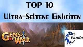 Gems of War deutsch  TOP 10 Ultra Selten Einheiten   Guide Tipps und Tricks für Anfänger und Mittels