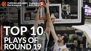 Turkish Airlines EuroLeague Regular Season Round 19 Top 10 Plays